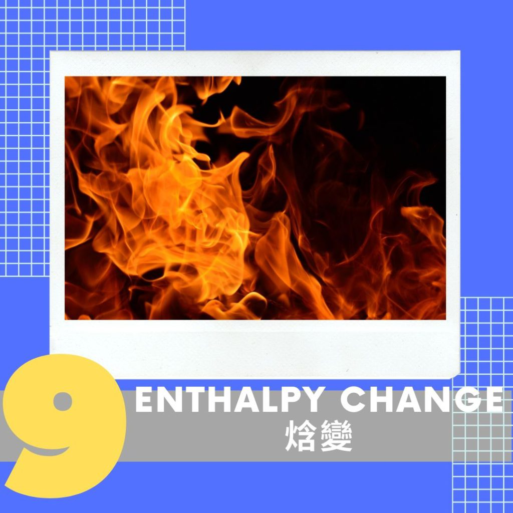 Topic 9. Enthalpy Change 焓變  ???? 1